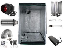 Growbox Komplettset 660 W dimmbar NDL Pro 120x120x200 cm