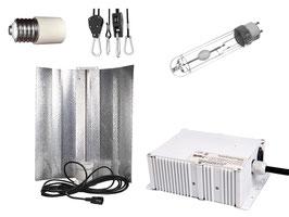 315 Watt CMH Bausatz - übertrifft 600 W NDL - VSG, Reflektor und CMH Leuchtmittel