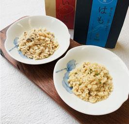 淡路島産 鱧の佃煮(朝倉山椒入り)と鯛のフレーク詰合せ