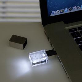 USB-Stick mit 2D Glasfoto