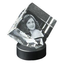 3D Glaswürfel
