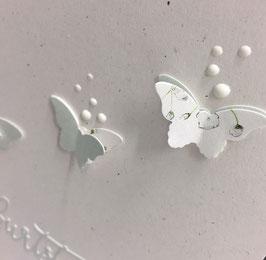 Geburtstag 3er Schmetterlinge