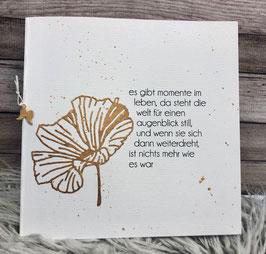 es gibt Momente im Leben