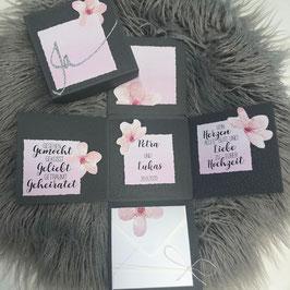 Hochzeitsexplosionsbox Kirschblüte