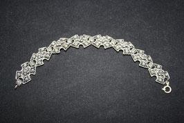 Oxydierte Silberfiligran Armkette HK1