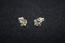 Rosenohrstecker oxidiert klein