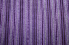 Handgewobener Schürzenstoff violett
