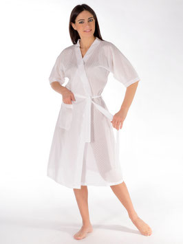 Kimono plumetis 100% coton suisse