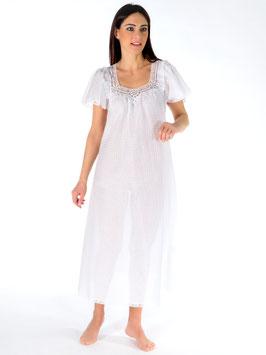 Nightgown plumeti 100% swiss cotton