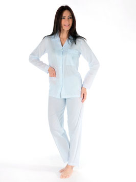 Pyjama open plumeti 100% swiss cotton
