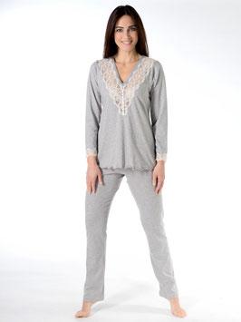 Pijama 50% modal 50% algodón suizo
