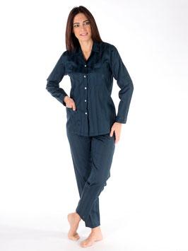 Pijama abierto 100% algodón suizo