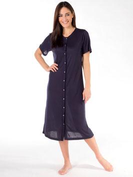 Nachthemd, ganz geöffnet, 50% Modal, 50% schweizer Baumwolle