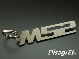 """Schlüsselanhänger """"M52"""" - GEBÜRSTET"""