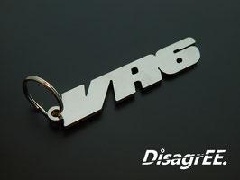 """Schlüsselanhänger """"VR6"""" - GLATT"""