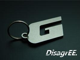 """Schlüsselanhänger """"G"""" - GLATT"""