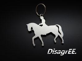 "Schlüsselanhänger ""Dressur"" - GLATT"
