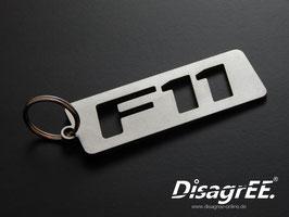 """Schlüsselanhänger """"F11"""" - GLATT"""