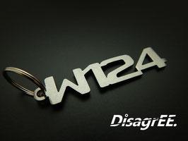 """Schlüsselanhänger """"W124"""" - GEBÜRSTET"""