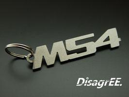 """Schlüsselanhänger """"M54"""" - GEBÜRSTET"""