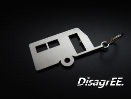 """Schlüsselanhänger """"Wohnwagen"""" - GLATT"""