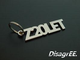 """Schlüsselanhänger """"Z20LET"""" - GLATT"""