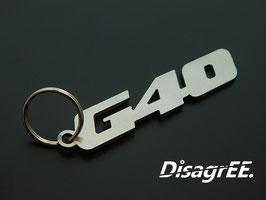 """Schlüsselanhänger """"G40"""" - GLATT"""