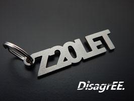 """Schlüsselanhänger """"Z20LET"""" - GEBÜRSTET"""