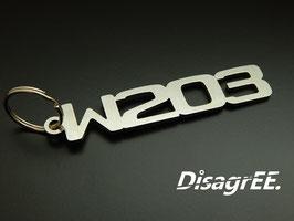 "Schlüsselanhänger ""W203"" - GLATT"