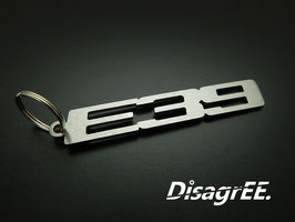 "Schlüsselanhänger ""E39"" - GEBÜRSTET"