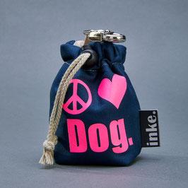 Leckerlibeutel Peace.Love.Dog. (Zeichen)