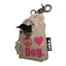 inke.-Mini Peace.Love.Dog. (Zeichen)