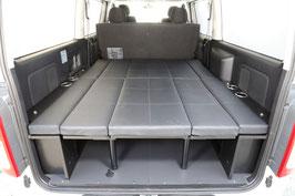 ハイエース・S-GL標準(自動ドア無し)用 プルダウンベッドシステム