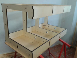 """""""EZ-Layout"""" Anlagen-Modul 90 x 50 cm (Bausatz)"""