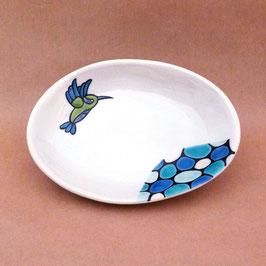 小皿 ハチドリ