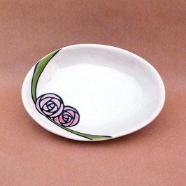 小皿 バラ