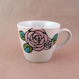 マグカップ バラ ピンク