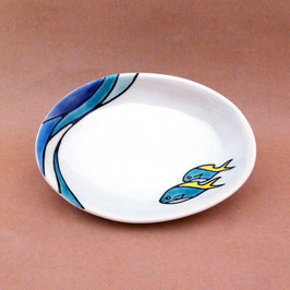 小皿 ウメイロモドキ