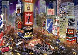 Time Square New York  (puzzel 8000 stuks)