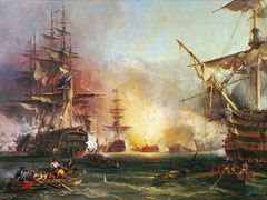 Bombardement van Algiers (puzzel 9000 stuks)