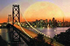 San Francisco bij nacht  (puzzel 3000 stuks)