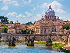 De engelenbrug kasteel San Angelo Rome (puzzel 2000 stuks)
