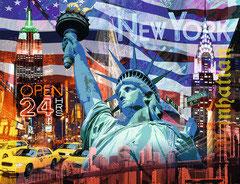 Collage New York  (puzzel 2000 stuks)