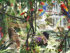Dieren in het oerwoud (puzzel 2000 stuks)
