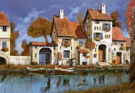 Huis op het meer Guido Borelli  (puzzel 2000 stuks)