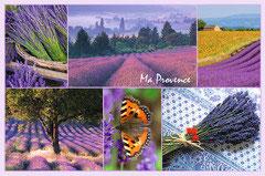 Provence collage lavendel (puzzel 3000 stuks)