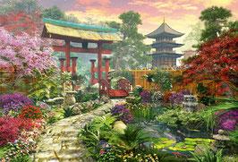 Japanse tuin (puzzel 3000 stuks)