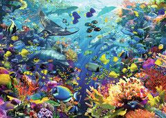 Aquarium (puzzel 9000 stuks)