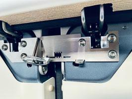 Hecktürsicherung - Verriegelung Edelstahl H3 Dach