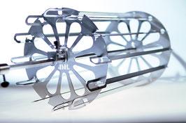 Horizontal Schaschlik Antrieb *HSA* mit 10 oder 12 Grillspießen